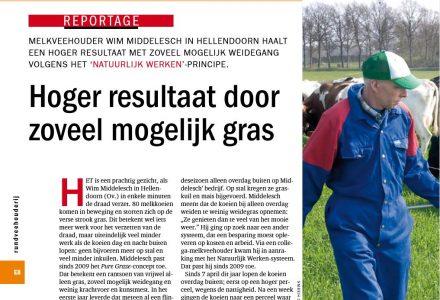 Editie Rundveehouderij - Hoger resultaat door zoveel mogelijk gras 27-04-2011