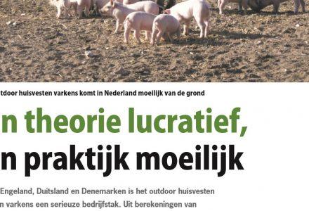 Pigbusiness - Outdoor huisvesten varkens komt in Nederland moeilijk van de grond 12-2012