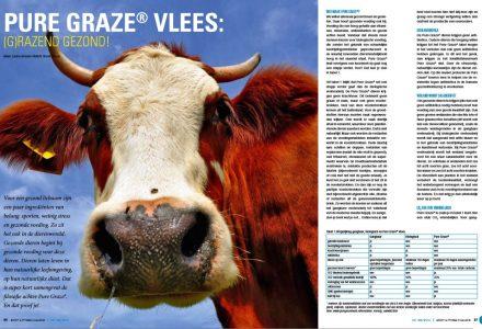 SPORT & FITNESS MAGAZINE - Pure Graze® vlees 04-2012