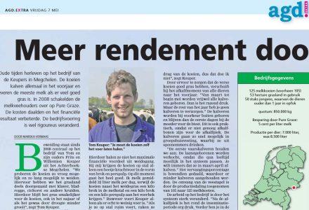 AGD Extra - Meer rendement door