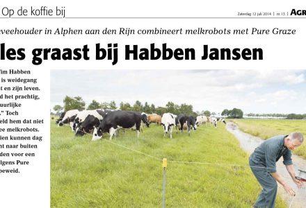 Agraaf - Op de koffie bij Habben Jansen 06-2014