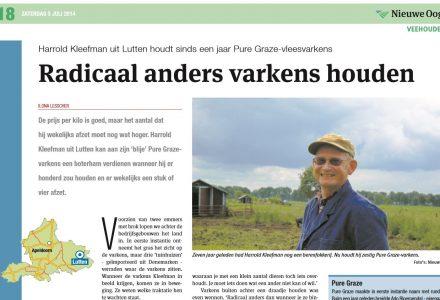 Nieuwe oogst - Radicaal anders varkens houden 07-2014