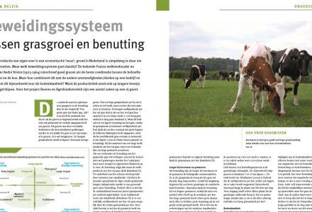V-Focus - Beweidingssysteem tussen grasgroei en benutting 09-2017