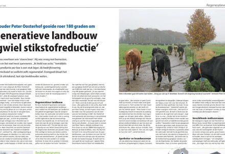 Melkvee - Regeneratieve landbouw vliegwiel stikstofreductie