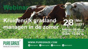 Webinar; kruidenrijk grasland managen in de zomer 28 mei